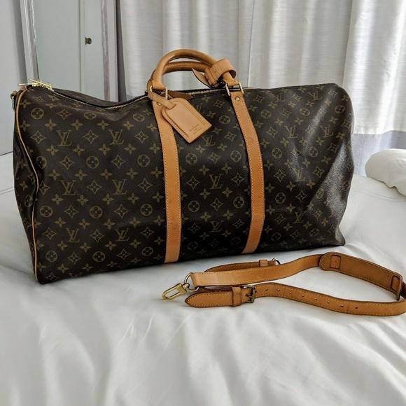 2eb7b682 Vintage Louis Vuitton Keepall Bandouliere 60